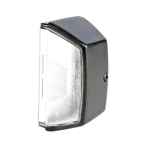 Housing, licence plate light HELLA 9BG 121 587-031 AUDI DAF MAN MERCEDES-BENZ VW