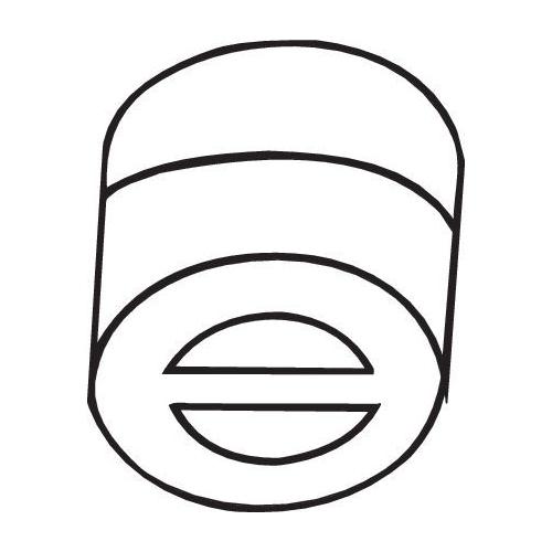 Gummistreifen, Abgasanlage BOSAL 255-681 FORD ISUZU OPEL LAND ROVER