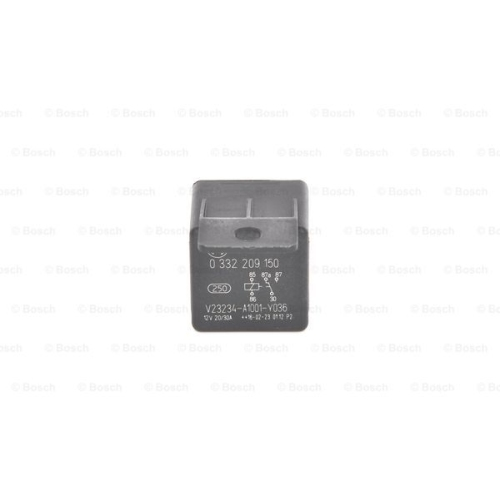 BOSCH Relay, main current 0 332 209 150