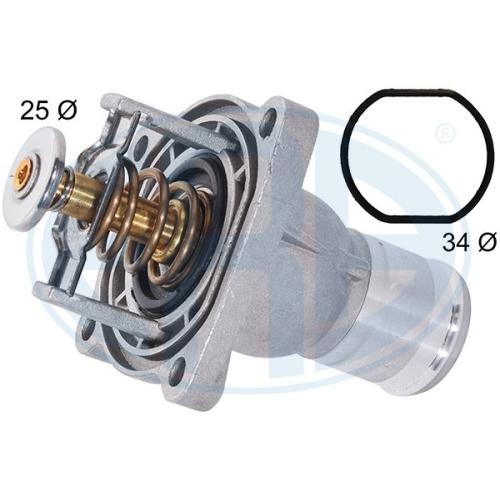 Thermostat, coolant ERA 350587A GENERAL MOTORS