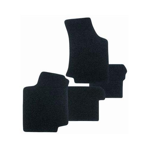SCHOENEK 10.62175.9 Fußmattensatz Exquisit, Textil, 4-teilig für Ford Focus II