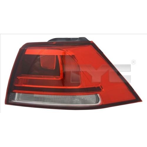 Combination Rearlight TYC 11-12380-11-2 VW