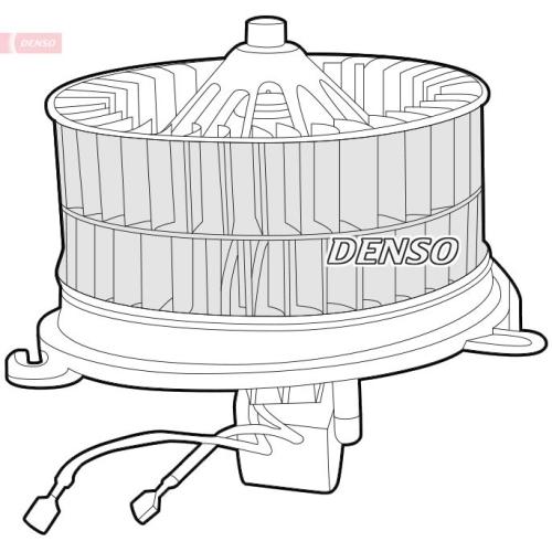 Innenraumgebläse DENSO DEA17010 MERCEDES-BENZ