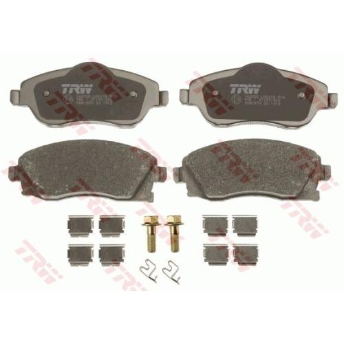Brake Pad Set, disc brake TRW GDB1570 COTEC OPEL VAUXHALL