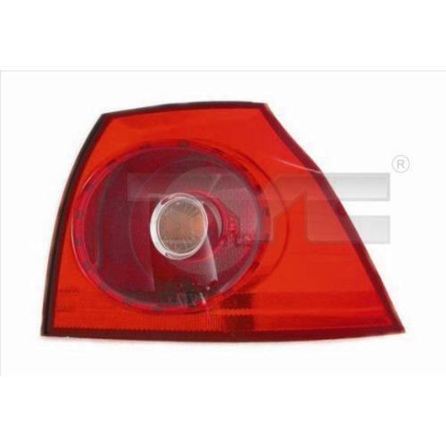Combination Rearlight TYC 11-0399-01-2 VW VW/SEAT