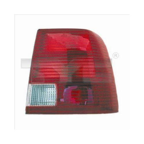Combination Rearlight TYC 11-0205-01-2 VW
