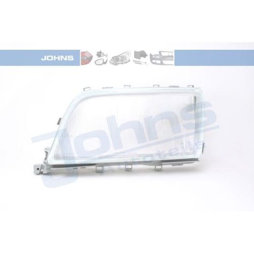 Diffusing Lens, headlight JOHNS 50 02 09-1 MERCEDES-BENZ