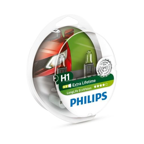 Glühlampe PHILIPS 12258LLECOS2 LongLife EcoVision AEBI ALFA ROMEO AUDI BMW DAF