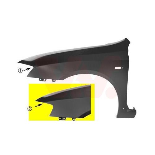 Kotflügel VAN WEZEL 1626656 FIAT