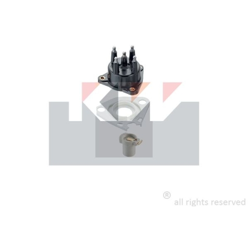 Distributor Cap KW 815 072 Made in Italy - OE Equivalent RENAULT VOLVO