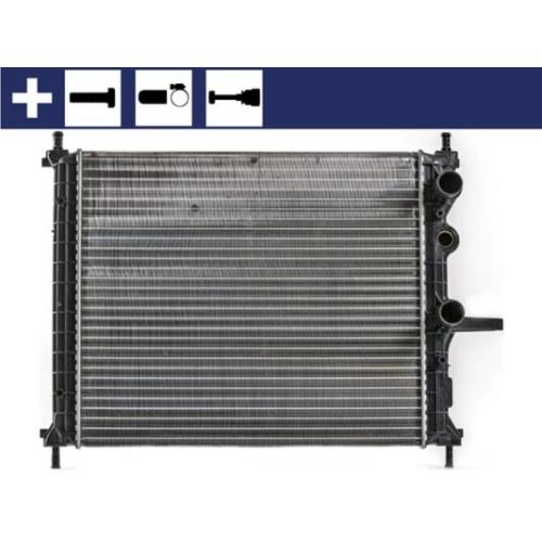 Radiator, engine cooling MAHLE CR 1993 000S FIAT