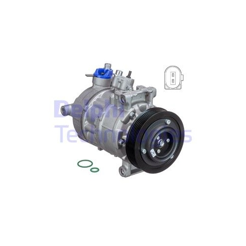 DELPHI Kompressor, Klimaanlage TSP0155997