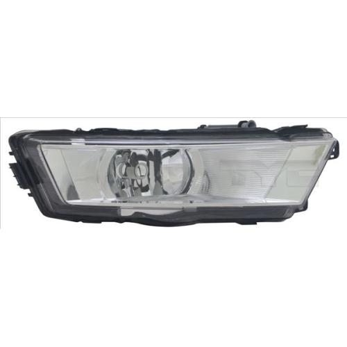 Fog Light TYC 19-12614-01-2 SKODA