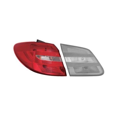 Combination Rearlight VAN WEZEL 3054931 MERCEDES-BENZ