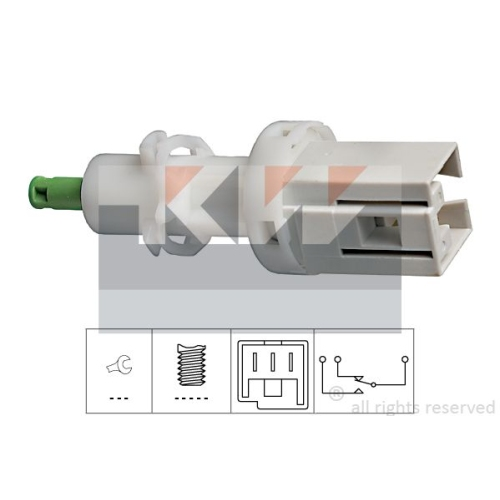 Brake Light Switch KW 510 069 Made in Italy - OE Equivalent ALFA ROMEO CITROËN