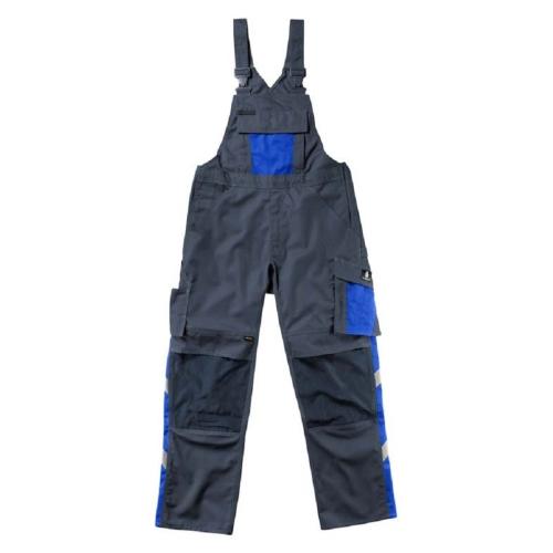 MASCOT BIB PANTS AUGSBURG blue / black size 52 articel nr.: 12169-442-0101182C52
