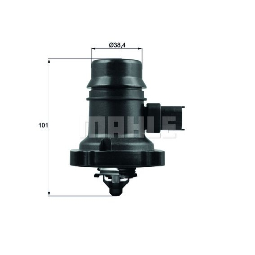 Thermostat, coolant BEHR TM 37 103 GMC OPEL VAUXHALL CHEVROLET