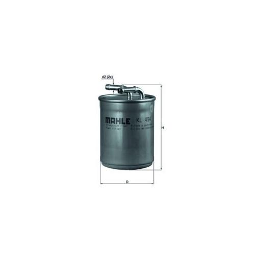 Kraftstofffilter MAHLE KL 494 AUDI VAG CUPRA