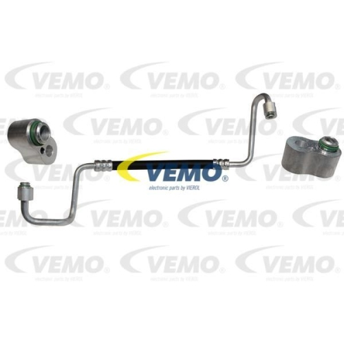 High-/Low Pressure Line, air conditioning VEMO V20-20-0007 Original VEMO Quality