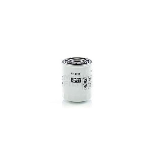 Filter, operating hydraulics MANN-FILTER WD 8001 KUBOTA