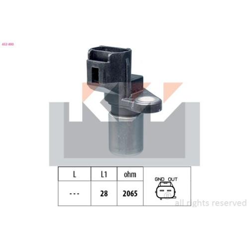 Impulsgeber, Kurbelwelle KW 453 490 Made in Italy - OE Equivalent TOYOTA LEXUS