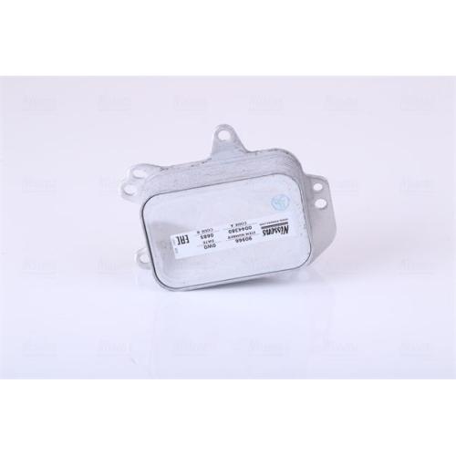 Oil Cooler, engine oil NISSENS 90966 CITROËN OPEL PEUGEOT TOYOTA VAUXHALL DS