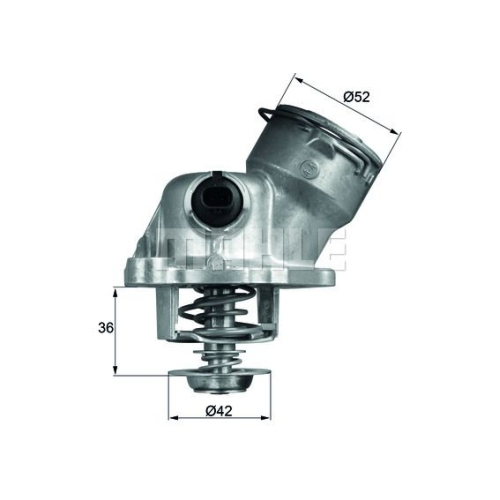 BEHR THERMOT-TRONIK Thermostat, Kühlmittel TM 29 100D
