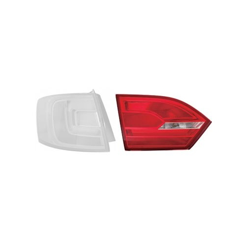 Combination Rearlight VAN WEZEL 5772933 VW