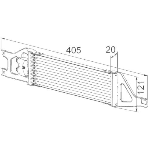 Ölkühler, Automatikgetriebe MAHLE CLC 57 000P BEHR *** PREMIUM LINE ***