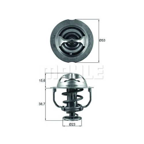 Thermostat, coolant BEHR TX 200 90D AUDI VW VAG CUPRA