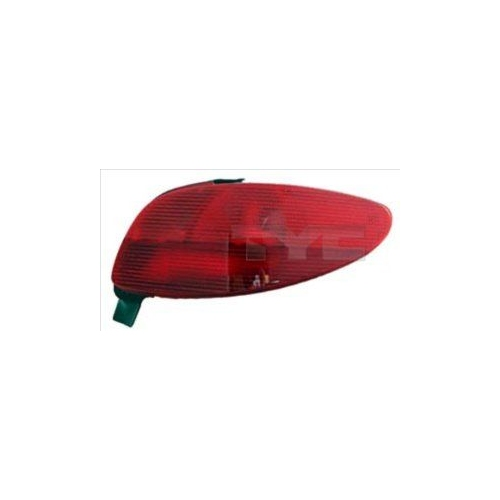 Combination Rearlight TYC 11-0115-01-2 PEUGEOT