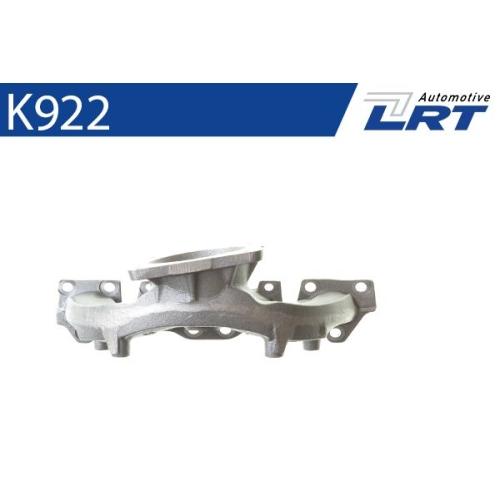 LRT Krümmer, Abgasanlage K922
