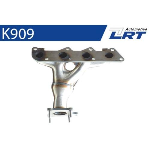 LRT Krümmer, Abgasanlage K909