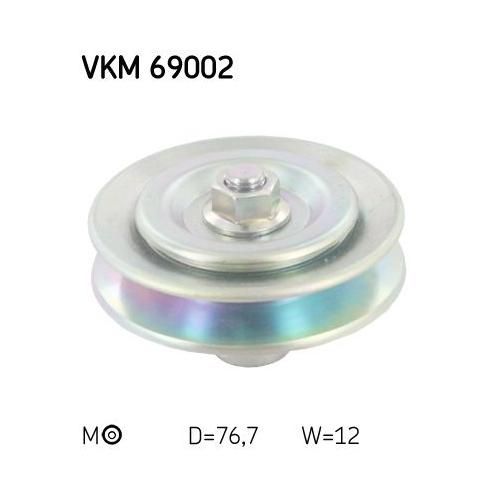 SKF Pulley VKM 69002