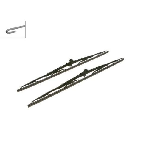 Wiper Blade BOSCH 3 397 118 320 Twin IVECO ASTRA