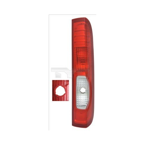 Combination Rearlight TYC 11-12383-01-2 NISSAN OPEL RENAULT