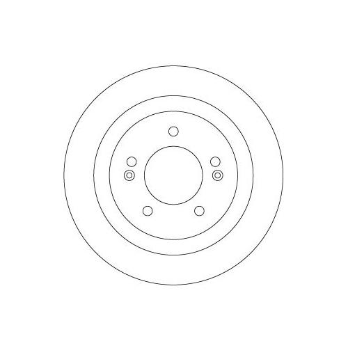 Brake Disc TRW DF6367 HYUNDAI