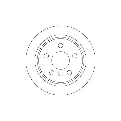 TRW Brake Disc DF6795