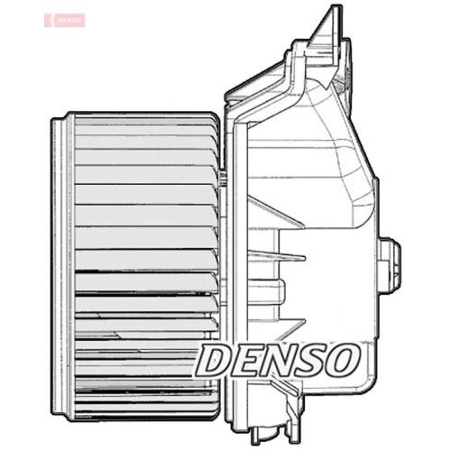 DENSO Interior Blower DEA09047