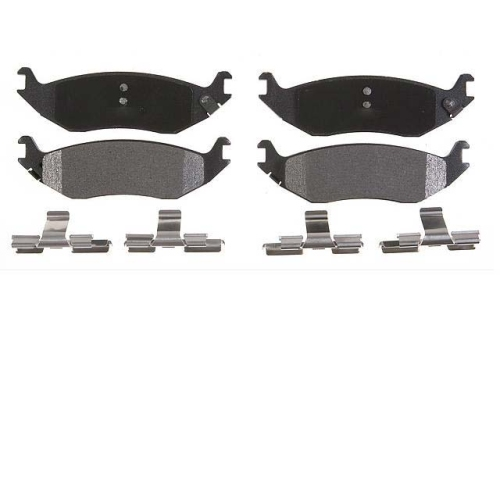 Brake pad set, brake pads, rear axle, rear PIKA 271-2313