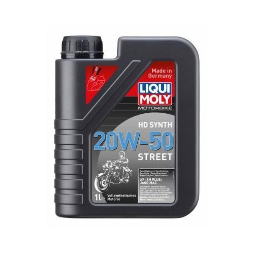 Engine Oil LIQUI MOLY 3816 Motorbike HD Synth 20W-50 Street