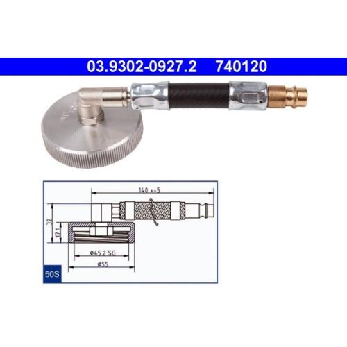 Entlüfterstutzen ATE 03.9302-0927.2