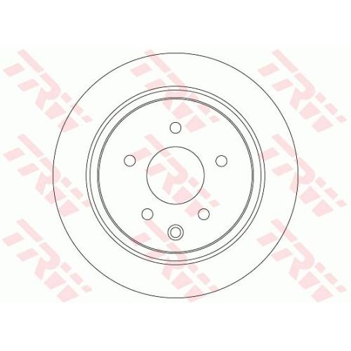 TRW Brake Disc DF7369