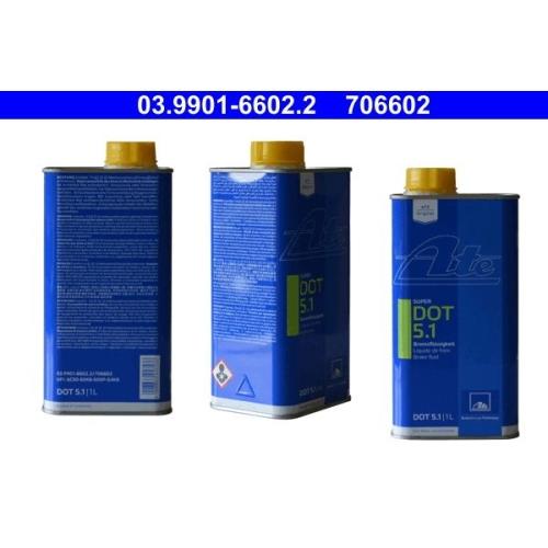 Bremsflüssigkeit ATE 03.9901-6602.2 SUPER DOT 5.1