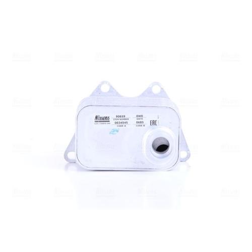 Ölkühler, Motoröl NISSENS 90659 AUDI SEAT SKODA VW
