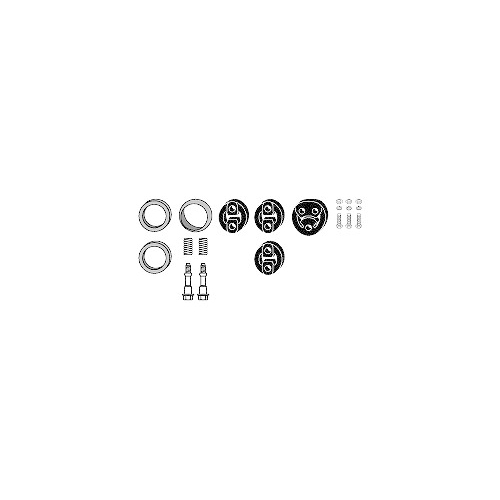 Mounting Kit, exhaust system HJS 82 48 7848