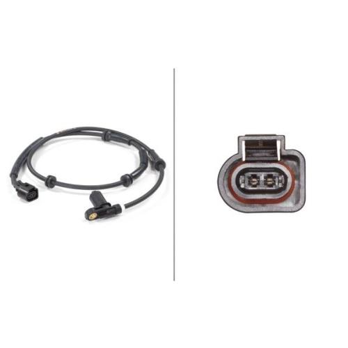 Sensor, wheel speed HELLA 6PU 010 039-271 FORD SEAT VW