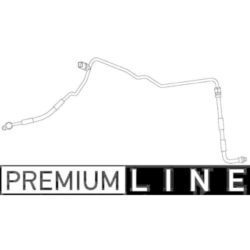 High Pressure Line, air conditioning MAHLE AP 83 000P BEHR *** PREMIUM LINE ***