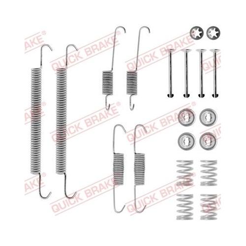 Accessory Kit, brake shoes QUICK BRAKE 105-0707