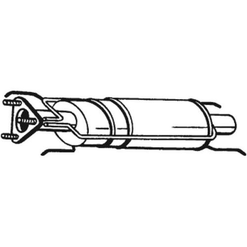 Ruß-/Partikelfilter, Abgasanlage BOSAL 095-202 ALFA ROMEO